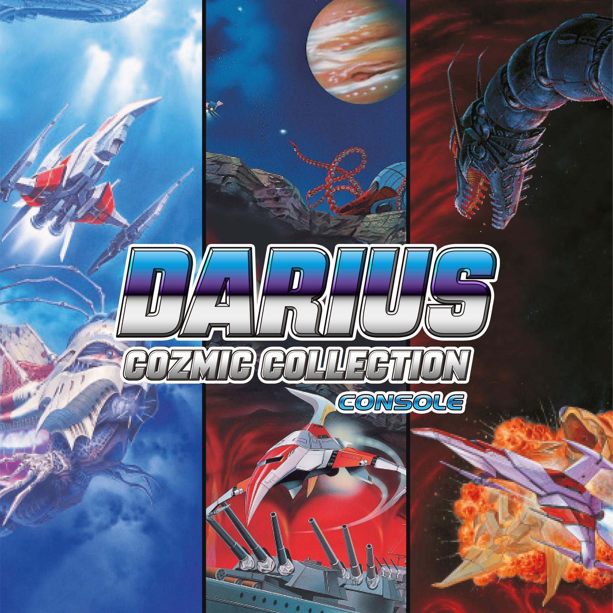 Classico dos Arcades; Darius está de volta em duas coletânias incríveis 2