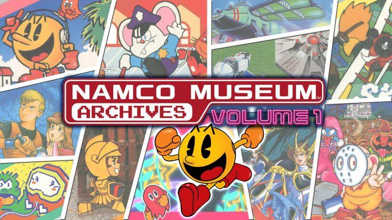 Anunciadas coletâneas de jogos Namco Museum Archives volume 1 e 2 1