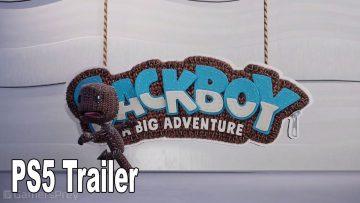 Sackboy: A big Adventure é revelado para PS5 5