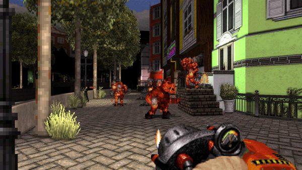 [Review] Duke Nukem 3D: World Tour - Bundas alienígenas serão chutadas no Nintendo Switch 5