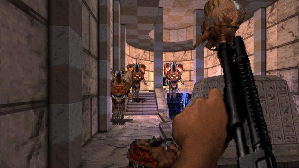 [Review] Duke Nukem 3D: World Tour - Bundas alienígenas serão chutadas no Nintendo Switch 4