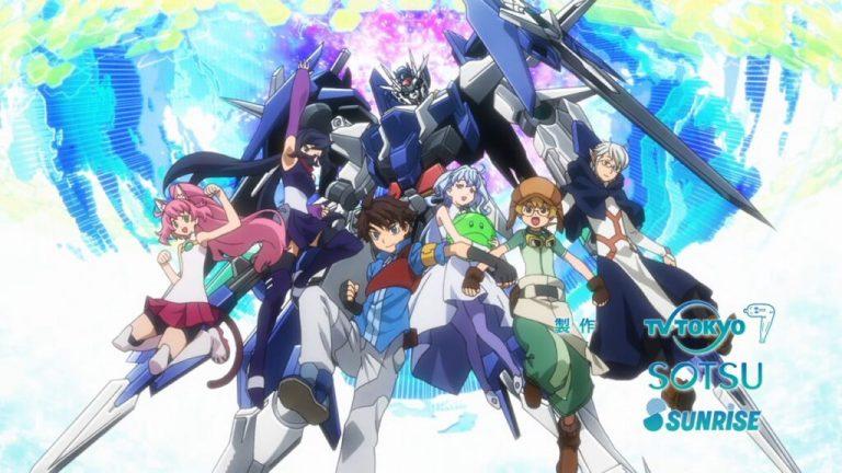 Veja o trailer do ultimo episódio do anime Gundam Build Divers Re:RISE 1