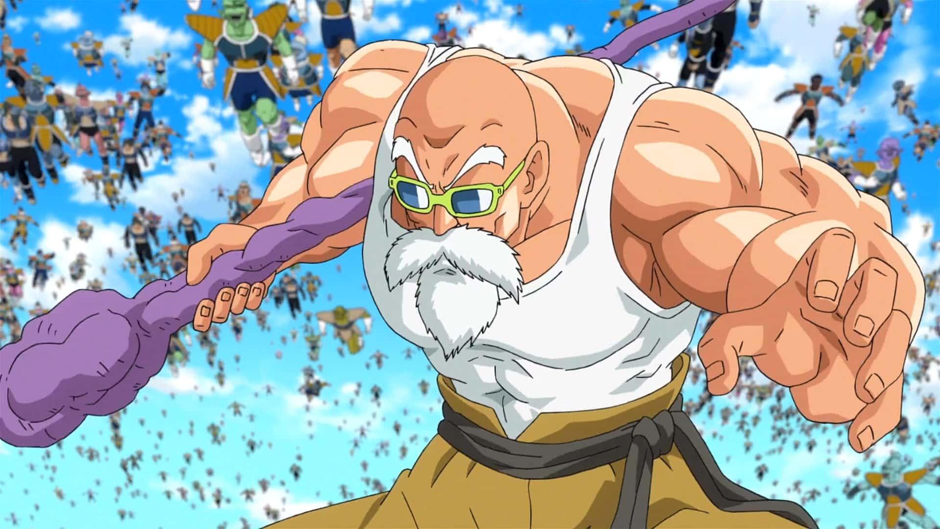 Mestre Kame é mais novo lutador em DRAGON BALL FighterZ 4
