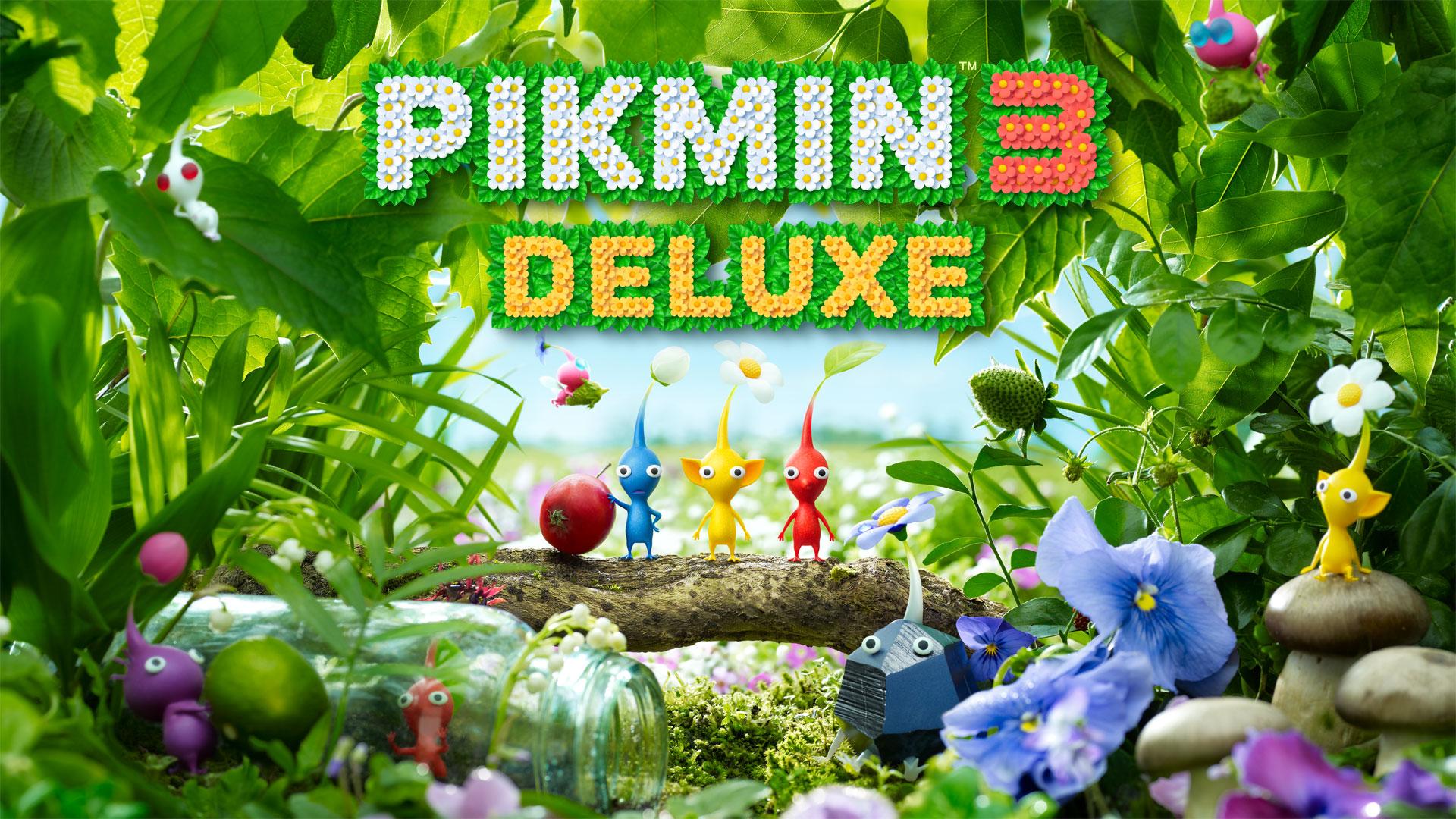 Confira o novo gameplay de Pikmin 3 Deluxe e o anúncio da demo 3