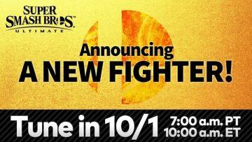 Novo personagem Super Smash Bros. Ultimate