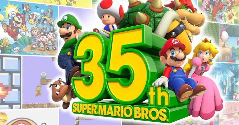 Super Mario 35 Anos - A Franquia que Salvou a Indústria dos Games 1