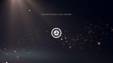 Interface do usuário no PS5