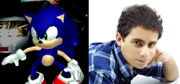 Sonic RJ mostra o rosto, e dublará Sonic em Sonic Adventure / SADX no projeto feito por fãs. 2