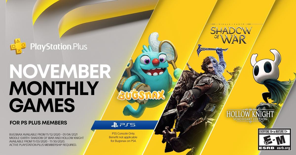 PS Plus Novembro de 2020 - Jogos Gratuitos da PS Store 1