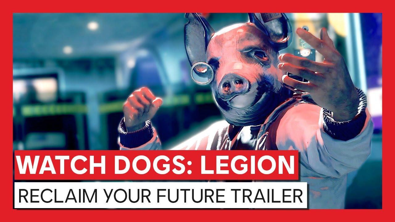 Trailer de Watch Dogs Legion