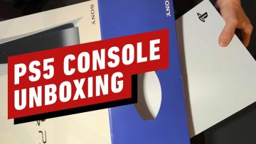Unboxing do PS5