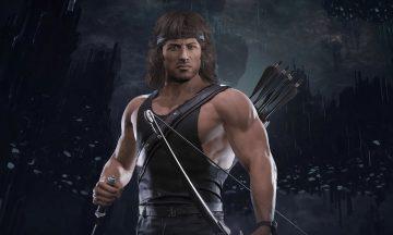 Mortal Kombat 11 gameplay Rambo