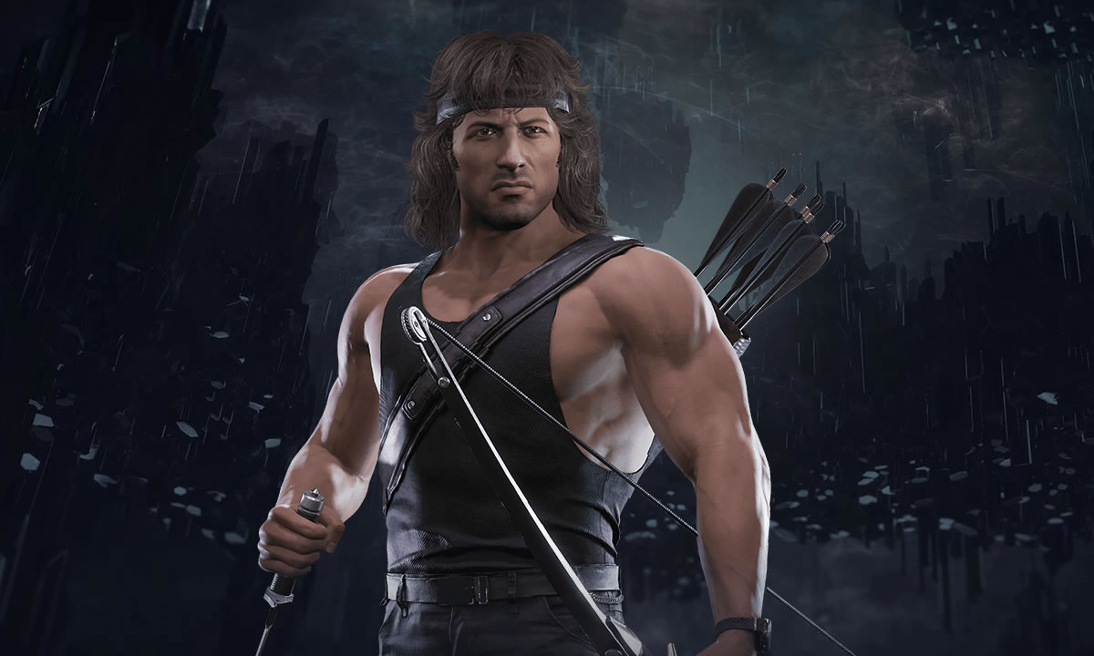 Mortal Kombat 11 gameplay Rambo