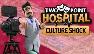 """Salve o mundo artístico em """"Culture Shock"""", novo DLC de Two Point Hospital™ 5"""