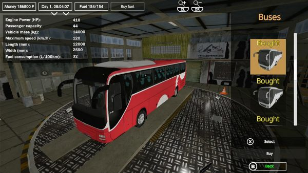 Review - Bus Drive Simulator para Nintendo Switch 1