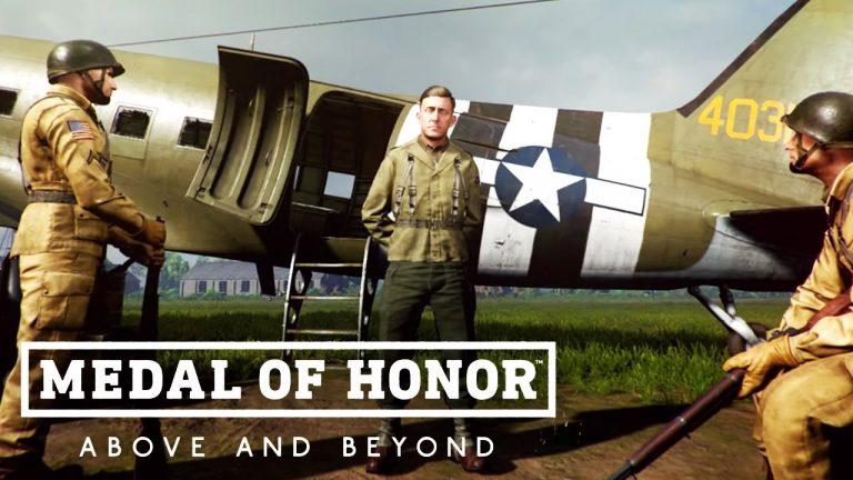 """Medal of Honor: Above and Beyond homenageia veteranos de guerra em """"The Gallery"""" 1"""