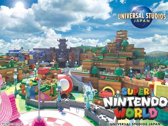 Super Nintendo World tem data de abertura anunciada 1