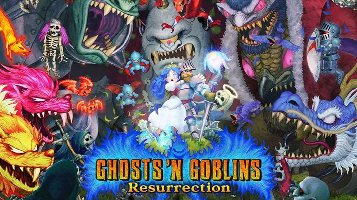 Gameplay de Ghosts 'n Goblins Resurrection