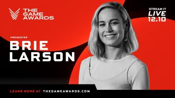 Brie Larson no The Game Awards 2020