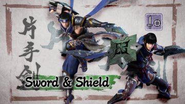Monster Hunter Rise Hammer eSword & Shield
