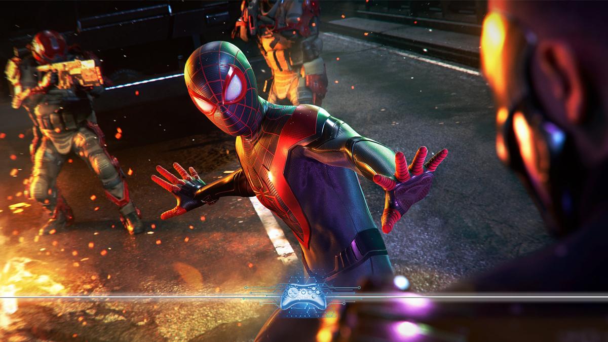 Atualização de Marvel's Spider-Man: Miles Morales