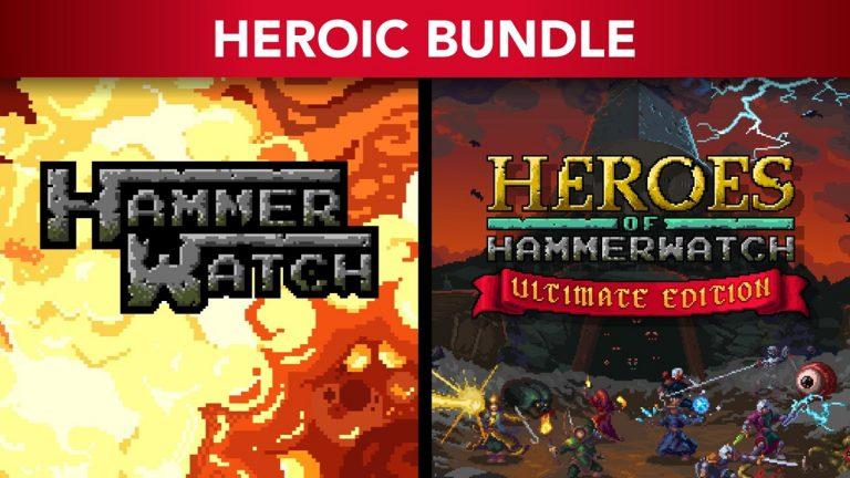 Hammerwatch: Heroic Bundle Já disponível no PS4/5 e XBOX One 1