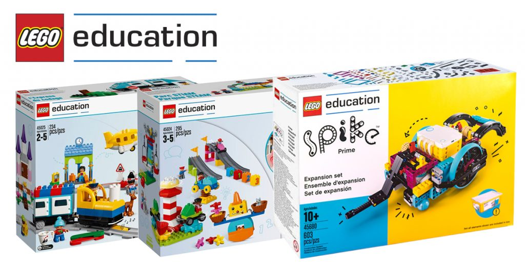Sorteio LEGO Education