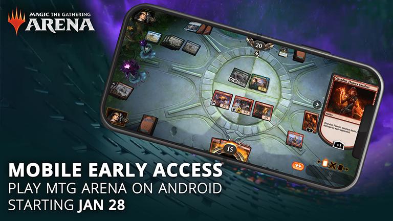 MTG Arena Mobile chegará no fim de Janeiro 5