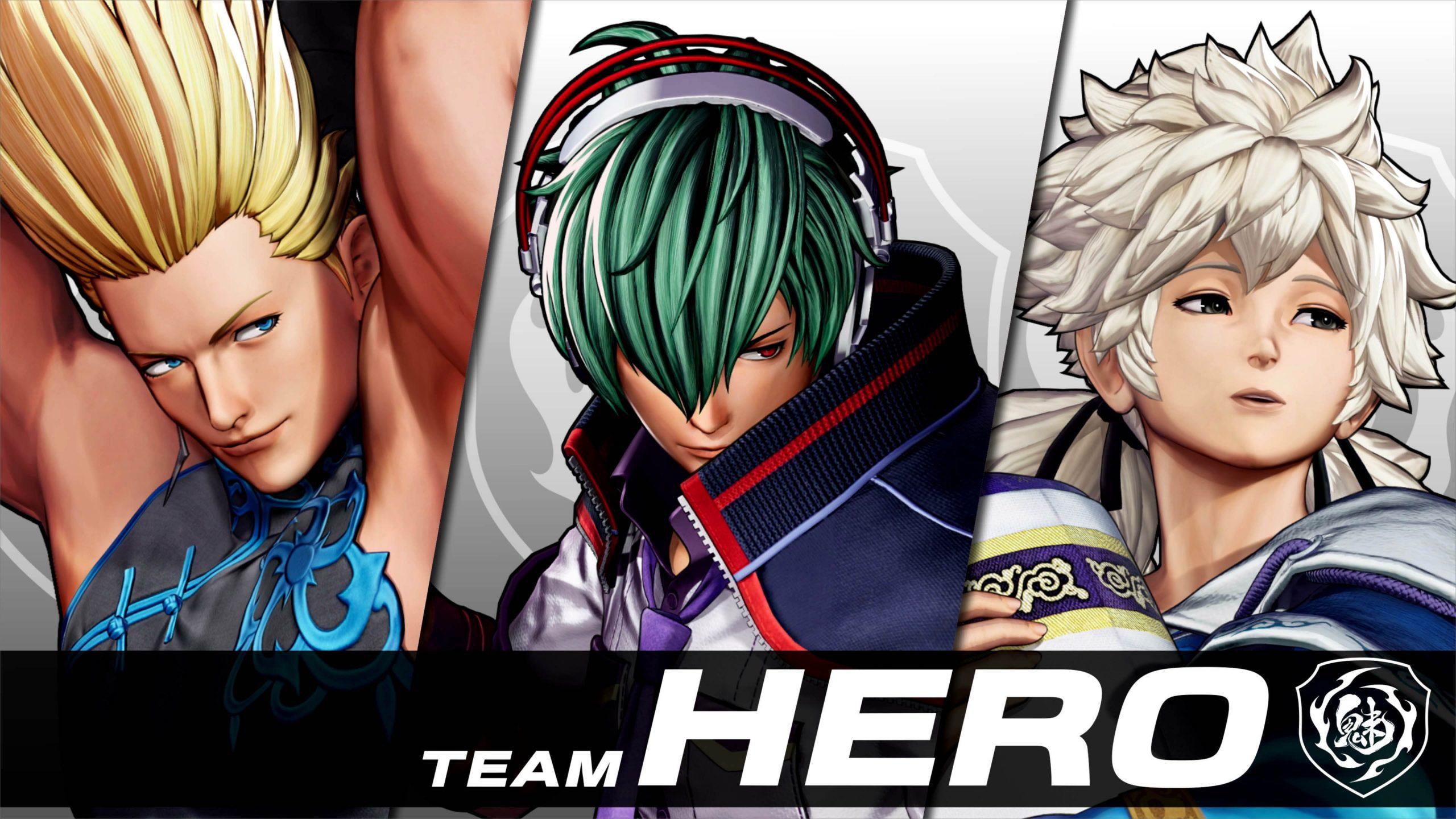 Team Hero: Shun'Ei, Meitenkun e Benimaru Nikaido