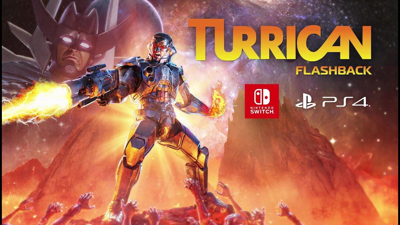 Turrican Flashback chega ao PS4 e Swtich em 29 de janeiro 2