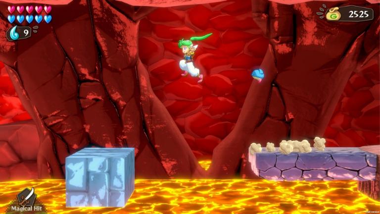 Wonder Boy - Asha  Gameplay