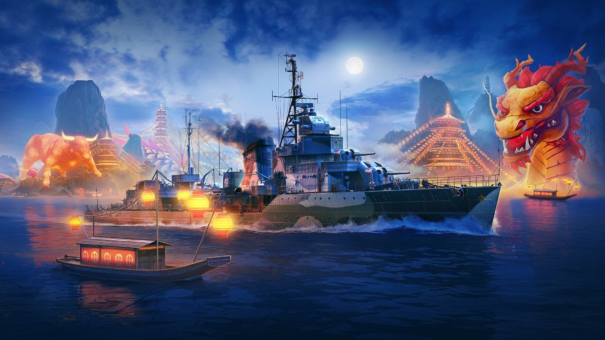 Wargaming revela detalhes da nova atualização para World of Warships 4