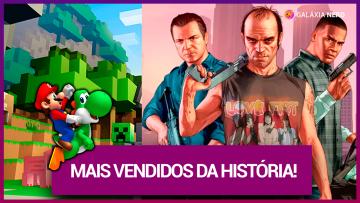 10 jogos mais vendidos de todos os tempos