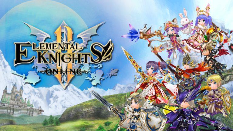 Elemental Knights Online R disponível no PS4