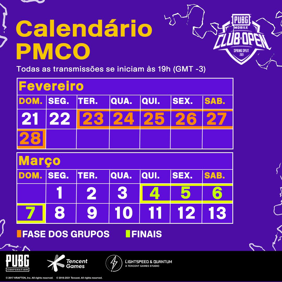 PUBG MOBILE Club Open 2021