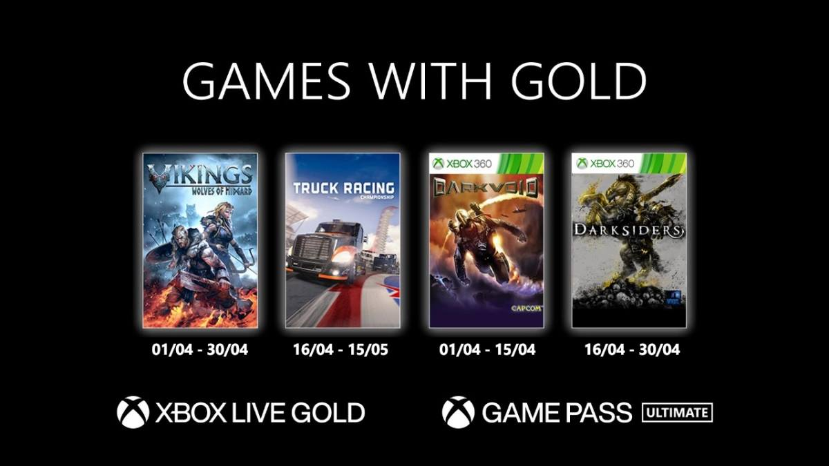 Games With Gold de Abril de 2021