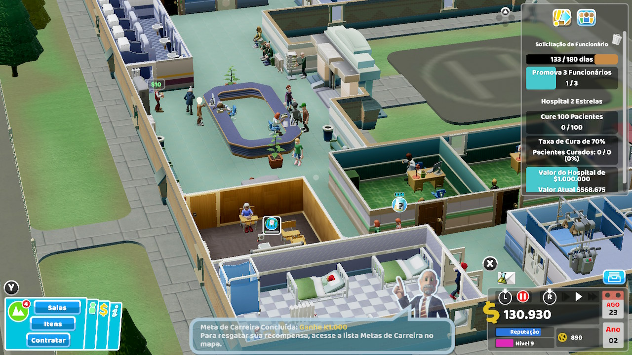 Review Two Point Hospital: Jumbo Edition