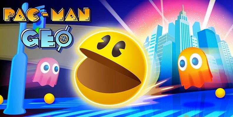 Atualização de Pac Man GEO