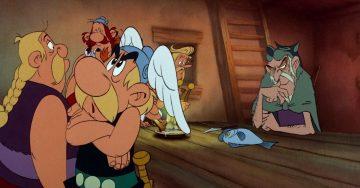 Série animada de Astérix na Netflix