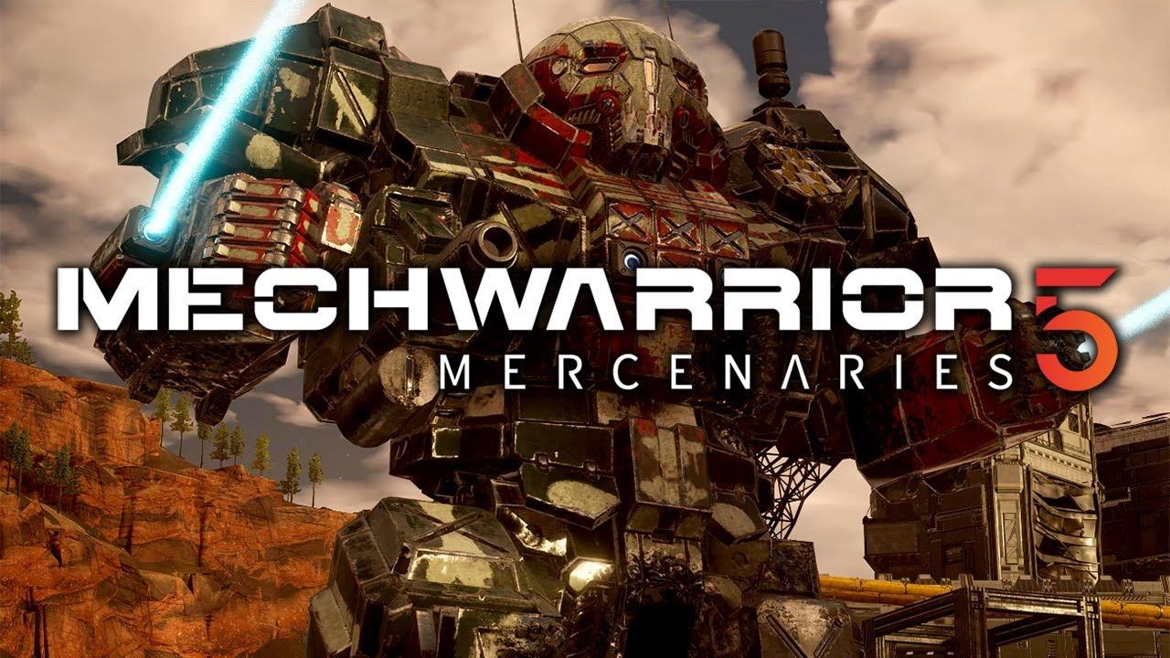 MechWarrior 5: Mercenaries receberá atualização para multiplataforma e mais