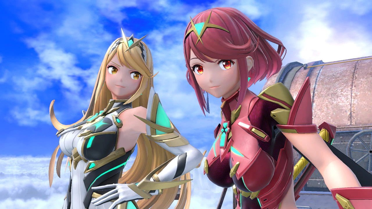 Pyra Mythra Super Smash Bros. Ultimate
