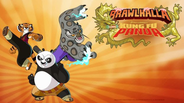 Kung Fu Panda em Brawlhalla