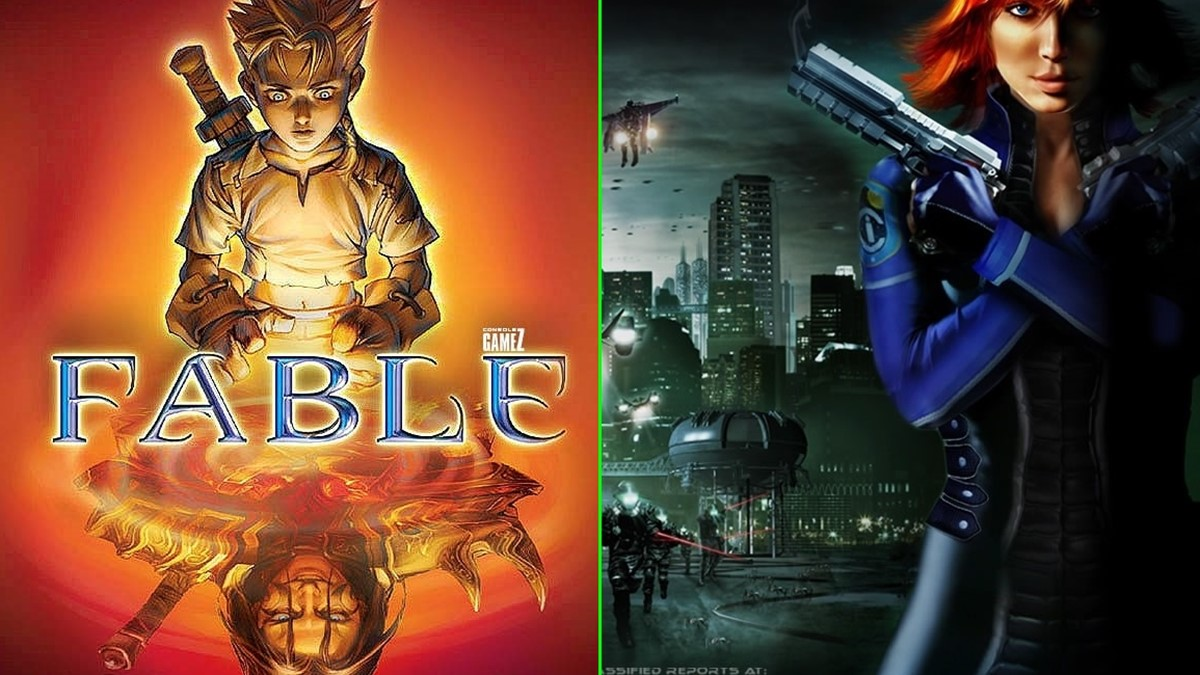 Perfect Dark e Fable