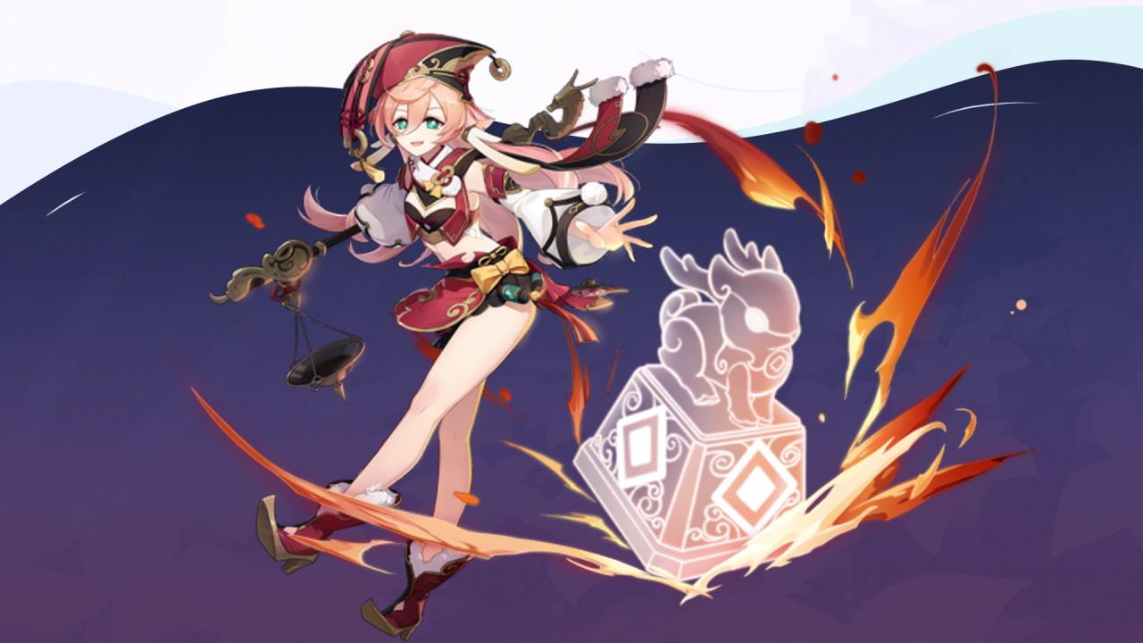 Genshin Impact com gameplay de Yanfei