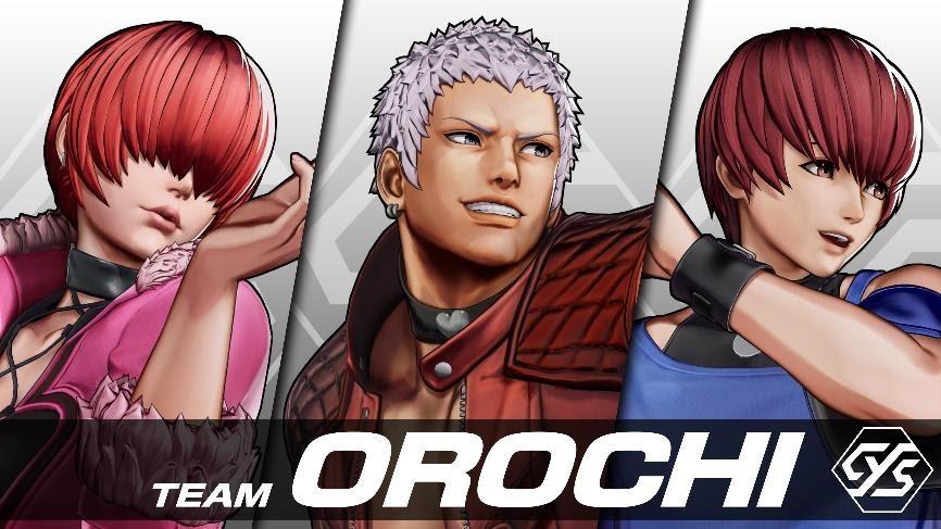 KOF XV Team Orochi