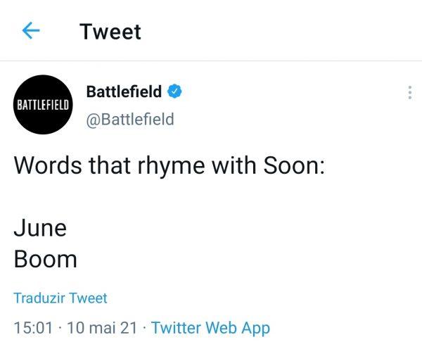 Twitter Battlefield 6