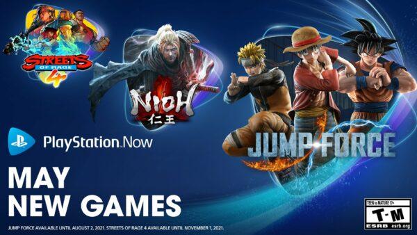 PlayStation Now em maio de 2021